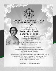 Esquela_Licda.AlbaEstelaTabarini-18-10-2019-min